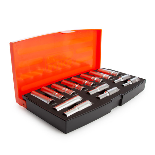 Bahco S1214L Deep Socket Set 3/8in Drive (14 Piece) - 4