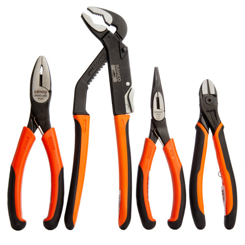 Bahco 9897 Plier Set (4 Piece) - 4