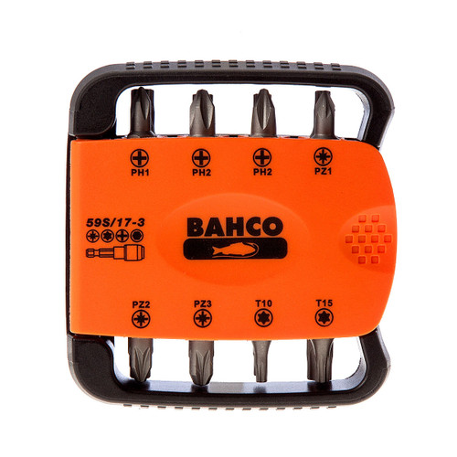 Bahco 59S/17-3 Bit Set with Bit Holder (17 Piece) - 4