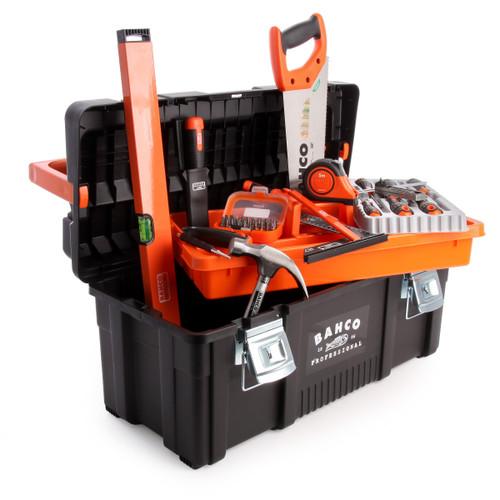 Bahco 4750PTB65TS1 General Purpose Tool Box Kit 48 Piece - 2