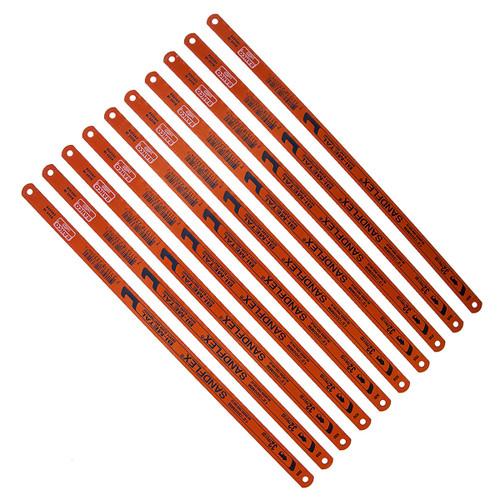 Bahco 3906 Sandflex HSS Bi-Metal Hacksaw Blades 12 Inch x 32TPI (10 Pack) - 2