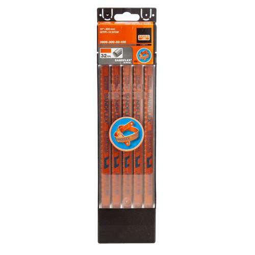 "Bahco 3906 Sandflex HSS Bi-Metal Hacksaw Blades 12"" X 32TPI (100 Pack)"