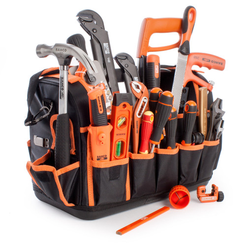Bahco 3100TBTS1 Plumbers Tool Kit 23 Piece - 2