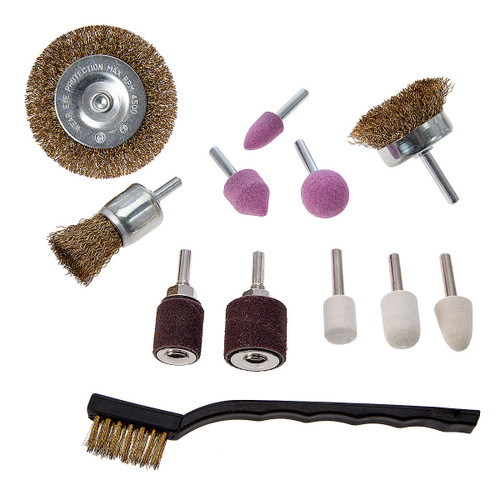 Abracs Multi-Accessory Polishing Kit (12 Piece)