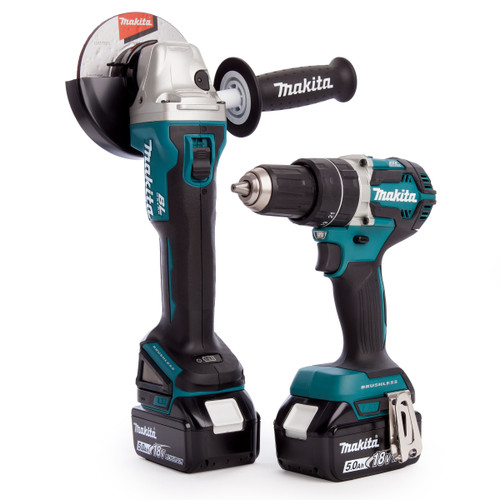 Makita DLX2210TJ1 Cordless 18V Twin Pack (2 x 5.0Ah Batteries) - 4