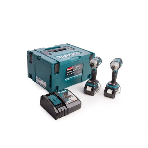 Makita DLX2211TJ Cordless 18V Twin Pack (2 x 5.0Ah Batteries) - 4