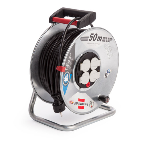 Buy Brennenstuhl 1198560 Garant Cable Reel GAR S 2950 V315 DE 50 Metres 110V at Toolstop