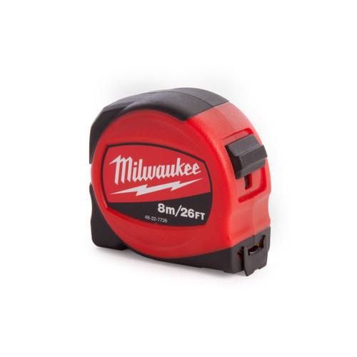 Milwaukee 48227726 Tape Measure 8m / 26ft - 1
