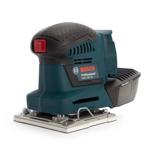 Bosch GSS 18 V-10 Cordless Orbital Palm Sander (Body Only) in LBoxx  - 2