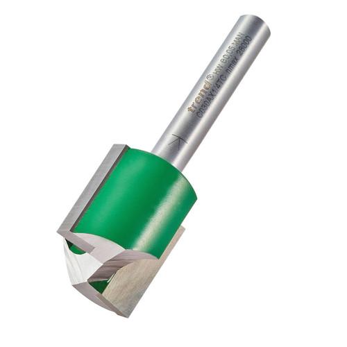 Trend C030AX1/4TC Two Flute Cutter 20mm Diameter - 2