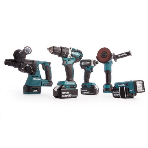 Makita DLX5042PT 18V LXT Brushless 5 Piece Cordless Kit  (3 x 5.0Ah Batteries) - 7