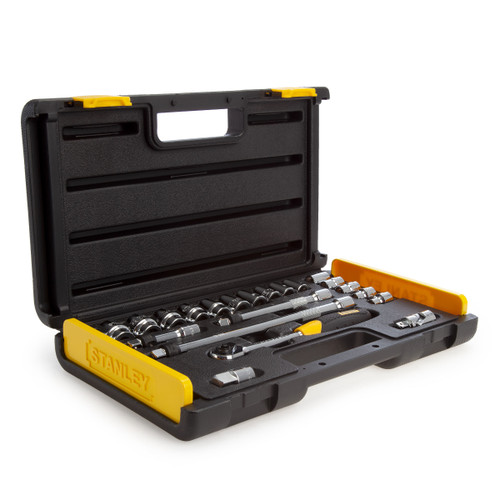 Stanley 2-85-583 MicroTough Socket Set 3/8in Drive (21 Piece) - 4