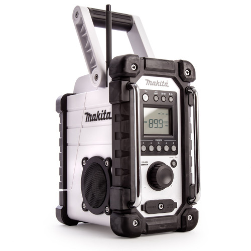 Makita DMR107W  Jobsite Radio - Now Compatible with CXT Batteries in White - 2
