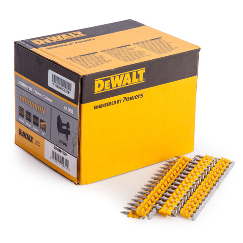 Dewalt DCN890 Standard Pins 20mm x 2.6mm (Pack of 1005) - 1