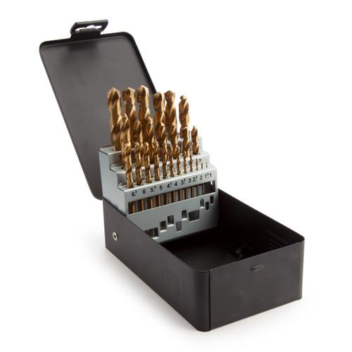 Abracs DBTKIT25 HSS Titanium Drill Bit Set (25 Piece) - 1