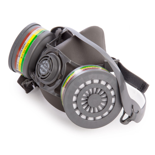 Beeswift BS038 Half Mask Respirator with 2 x ABEK Filters - 1