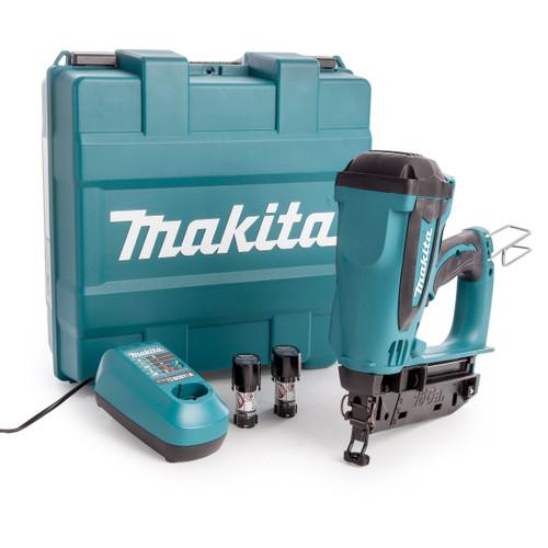 Makita GF600SE 7.2V Cordless 2nd Fix Gas Nailer (2 x 1.5Ah Batteries) - 3