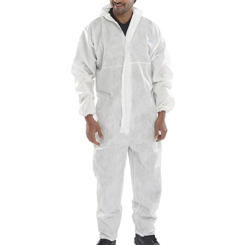 Beeswift BS020WXL Disposable Coverall Type 5:6 (X Large) - 1