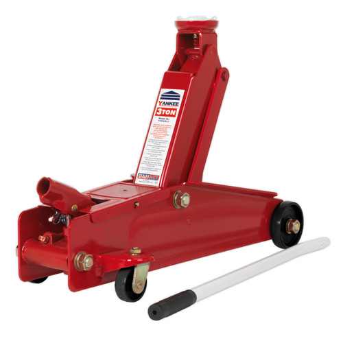 Buy Sealey 1153CX Trolley Jack 3tonne Long Chassis Heavy-Duty at Toolstop