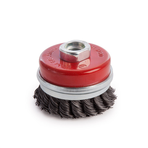 Abracs ABWB07014T Cup Brush Twisted Wire 70mm x M14 - 1