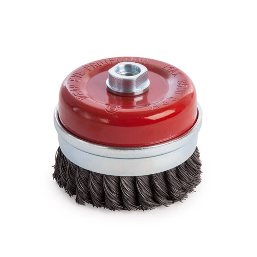 Abracs ABWB09514T Cup Brush Twisted Wire 95mm x M14 - 1
