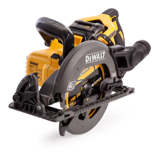 Dewalt DCS577T2 54V XR Flexvolt High Torque Circular Saw 190mm (2 x 6.0Ah Batteries) - 6