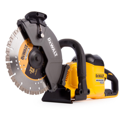 Dewalt DCS690X2 54V XR Flexvolt Cut Off Saw 230mm (2 x 9.0Ah Batteries) - 4