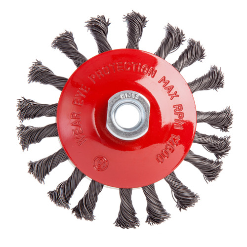 Abracs ABWBB115M14T Bevel Brush Twisted Wire 115mm x M14 - 1