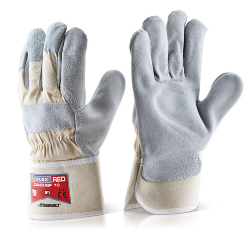 Beeswift BS040 Heavyweight Rigger Gloves One Size - 1