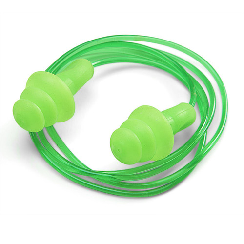 Beeswift BS002C Corded Ear Plugs Easy Fit Moulded (5 Pairs) - 1