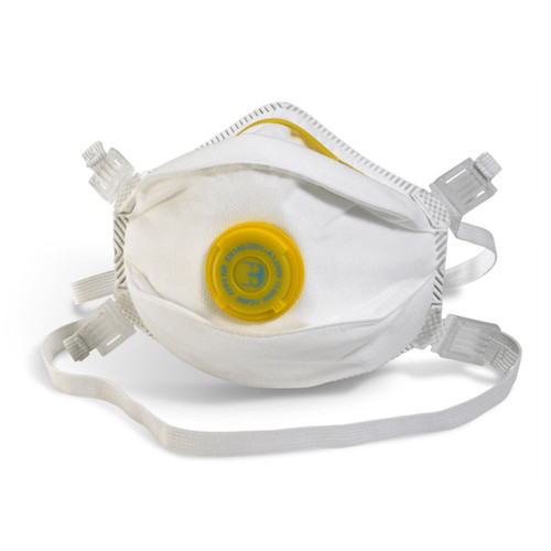Beeswift BS033 Moulded Valved Respirator FFP3 (Single Pack) - 1