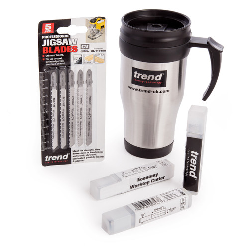 Trend Worktop Fitting Pack with Mug - 1