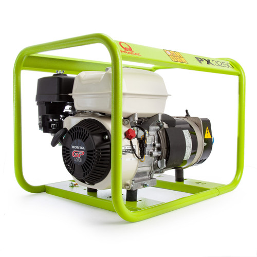 Pramac PX3250 50Hz Honda Powered GP160 Petrol Generator 110V / 240V - 2