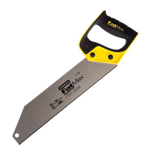 "Stanley 2-17-206 FatMax PVC & Plastic Saw (300mm 12"") - 3"