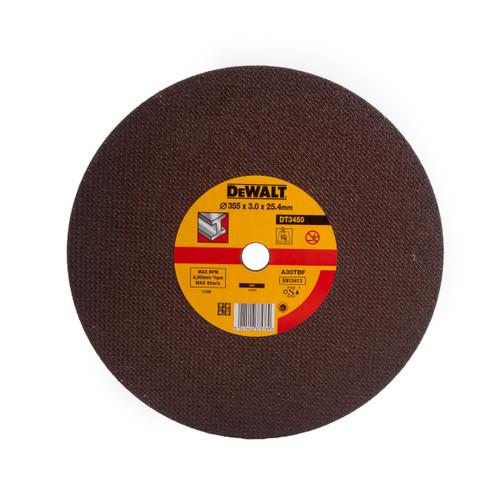 Buy Dewalt DT3450 355mm Abrasive Chop Saw Disc at Toolstop