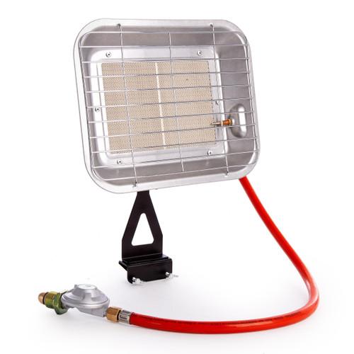 Sealey LP13 Space Warmer Propane Heater 8,871-15,354Btu/hr Bottle Mounting - 1