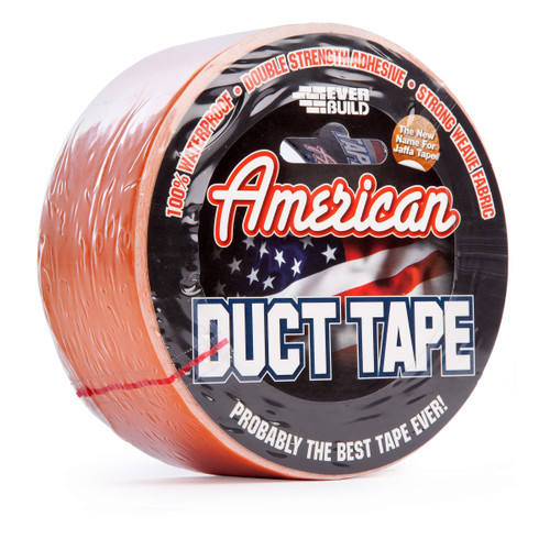 Buy Everbuild USDUCTOG25 American Duct Tape 50mm x 25 Metre at Toolstop