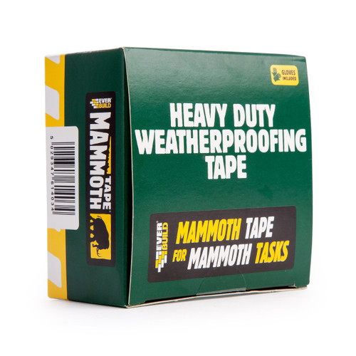 Mammoth 2WEATHER50 Heavy Duty Weatherproofing Tape 4 Metres x 50mm - 1