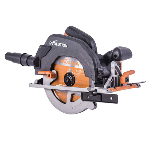 Evolution R185CCS TCT Circular Saw 185mm 110V - 11