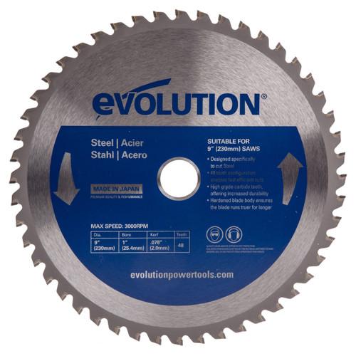 Evolution EVOBLADE230 Mild Steel Blade 230mm - 1