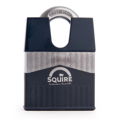 Henry Squire WARRIOR-65CS Closed Shackle Armoured Steel Padlock 65mm - 1