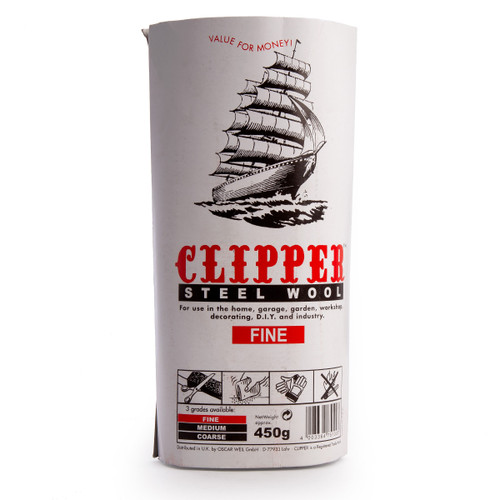 Clipper ABWW0 Steel Wool Fine Grade 450g - 1