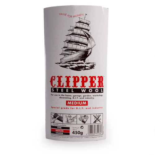 Clipper ABWW2 Steel Wool Medium Grade 450g - 1