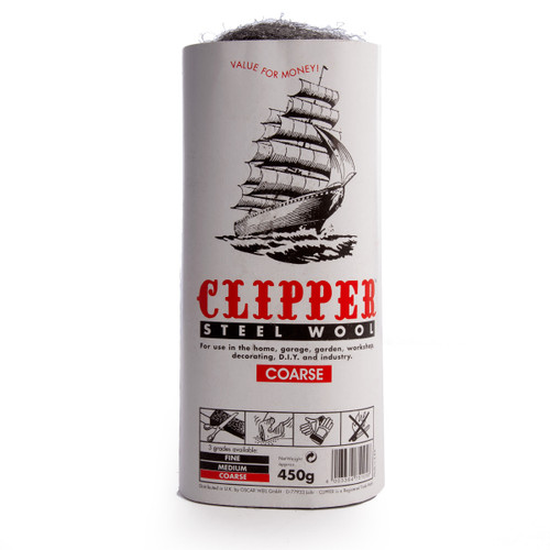 Clipper ABWW3 Steel Wool Coarse Grade 450g - 1