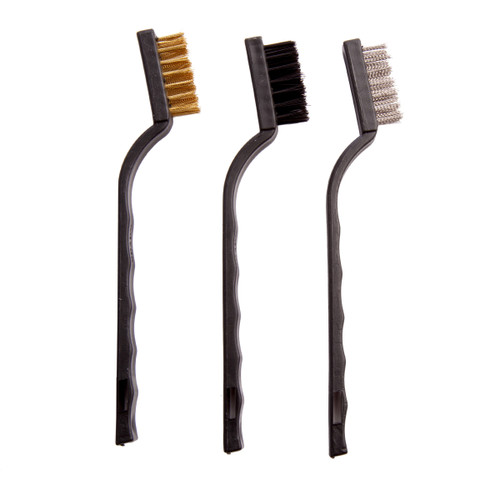 Abracs ABWBSMPACK7 Precision Brush Pack (3 Piece) - 1