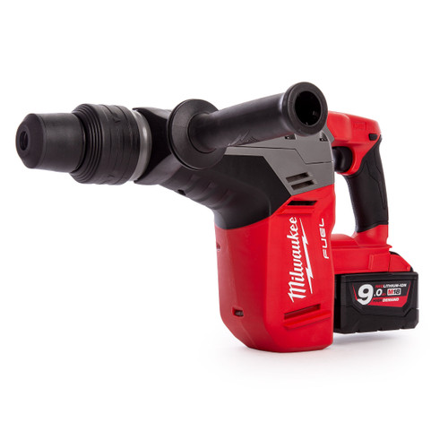 Milwaukee M18CHM-902C FUEL SDS-Max 5 kg Drilling and Breaking Hammer (2 x 9.0Ah Batteries) - 8