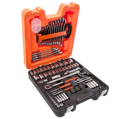 Bahco S87+7 Socket Set 1/4 and 1/2in Drive (94 Piece) - 4