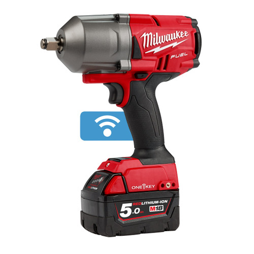 Milwaukee M18 ONEFHIWF12-503X FUEL ONE-KEY Impact Wrench 1/2in Drive (3 x 5.0Ah Batteries) - 6