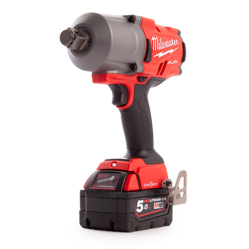 Milwaukee M18ONEFHIWF34-502X FUEL ONE-KEY Impact Wrench 3/4in Drive (2 x 5.0Ah Batteries) - 5