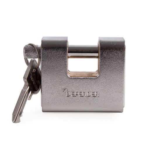Henry Squire DFAW60 Armoured Warehouse Lock (Branded Defender) 60mm - 1